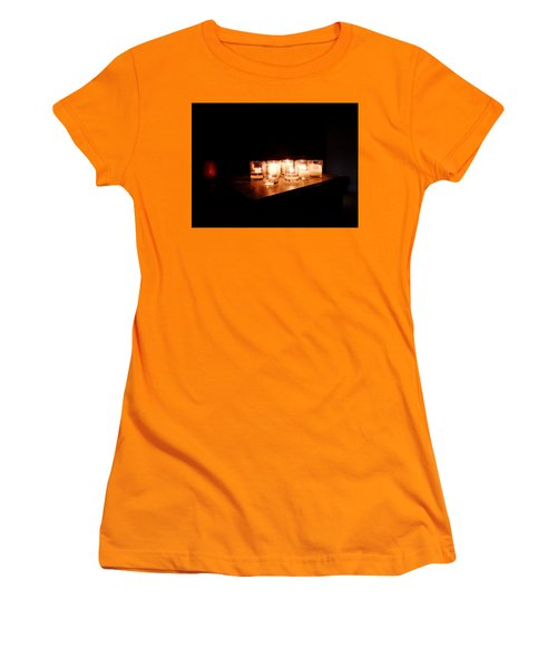 Peace On A Stormy Night Women's T-Shirt (Athletic Fit)