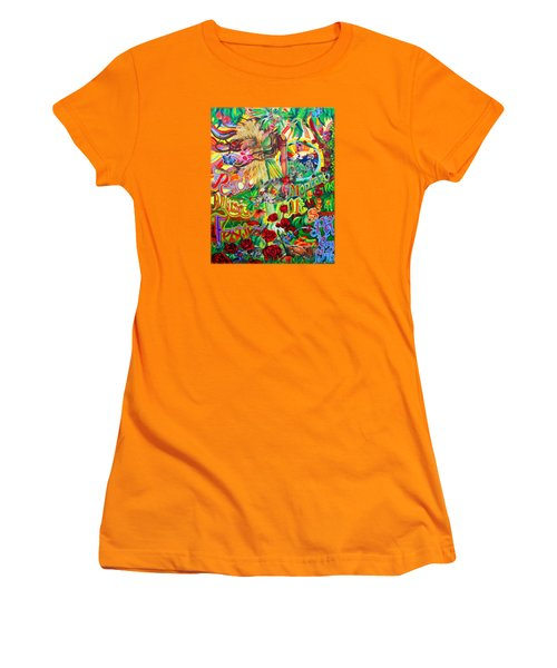 Peach Music Festival 2015 Women's T-Shirt (Junior Cut) by Kevin J Cooper Artwork