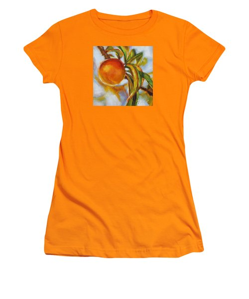 Peach Women's T-Shirt (Athletic Fit)