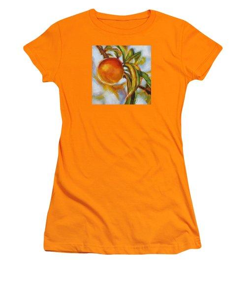 Peach Women's T-Shirt (Athletic Fit)