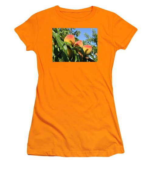 Peaches Women's T-Shirt (Athletic Fit)