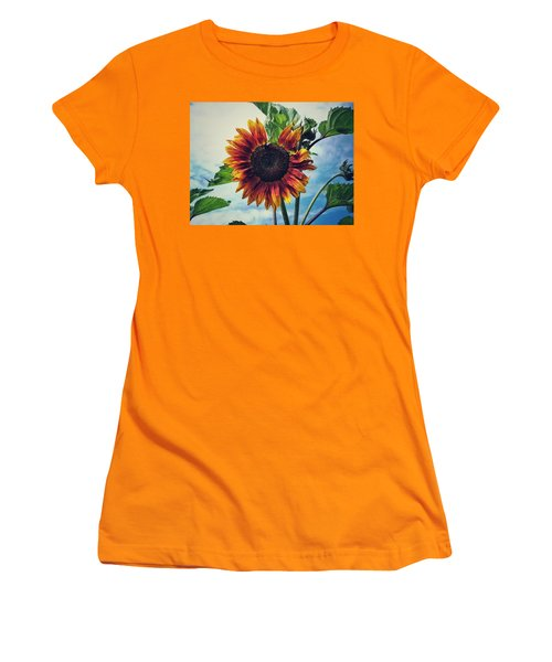 Women's T-Shirt (Junior Cut) featuring the photograph Perfectly Imperfect by Karen Stahlros