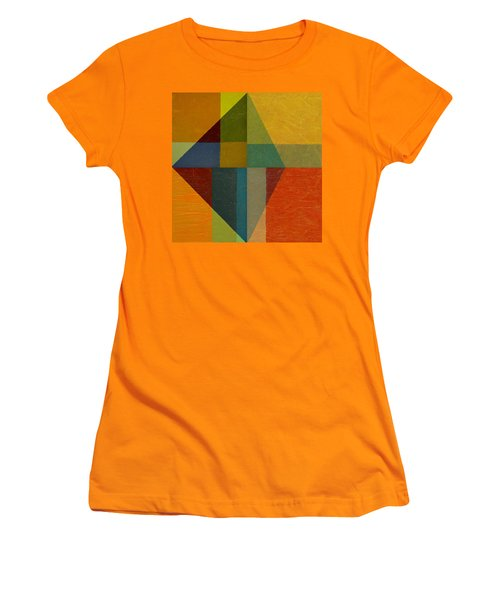Perspective In Color Collage Women's T-Shirt (Athletic Fit)