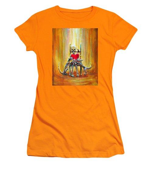 Pet Love Women's T-Shirt (Junior Cut) by Heather Calderon