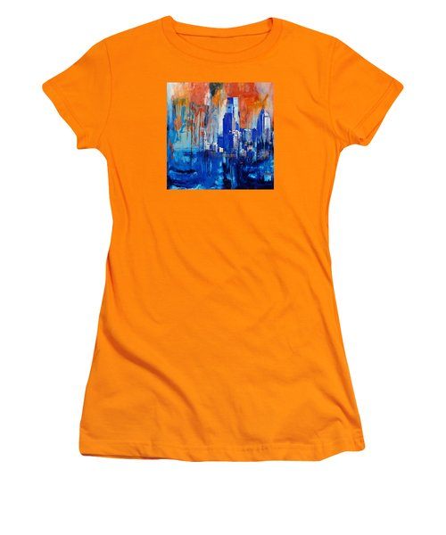 Philadelphia Skyline 227 1 Women's T-Shirt (Junior Cut) by Mawra Tahreem