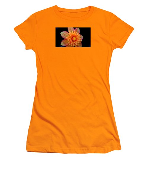 Point Defiance Dahlia Women's T-Shirt (Junior Cut) by Karen Molenaar Terrell