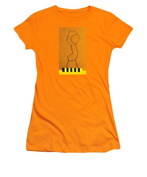 Pompidou Women's T-Shirt (Junior Cut) by Bill OConnor