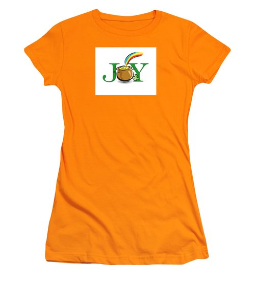 Pot Of Gold Joy Women's T-Shirt (Athletic Fit)