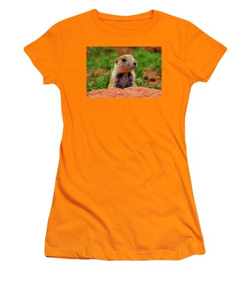 Prairie Dogs 007 Women's T-Shirt (Junior Cut) by George Bostian
