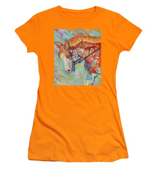 Pretty Paint Women's T-Shirt (Athletic Fit)