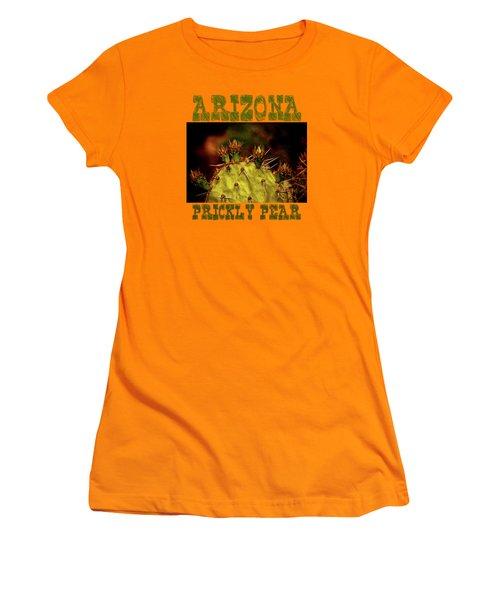 Prickly Pear Spring Women's T-Shirt (Junior Cut) by Roger Passman