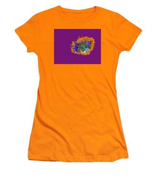 Puff Of Color Women's T-Shirt (Athletic Fit)