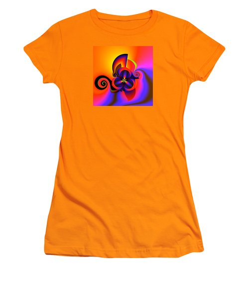 Rainbow Infusion Women's T-Shirt (Junior Cut) by Claude McCoy