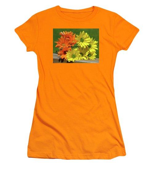 Rainbow Mums 4 Of 5 Women's T-Shirt (Junior Cut) by Tina M Wenger
