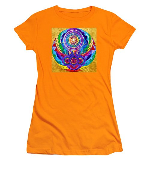 Raise Your Vibration Women's T-Shirt (Athletic Fit)
