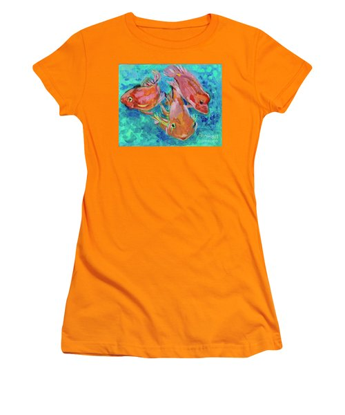Ramshead Goldfish Women's T-Shirt (Athletic Fit)