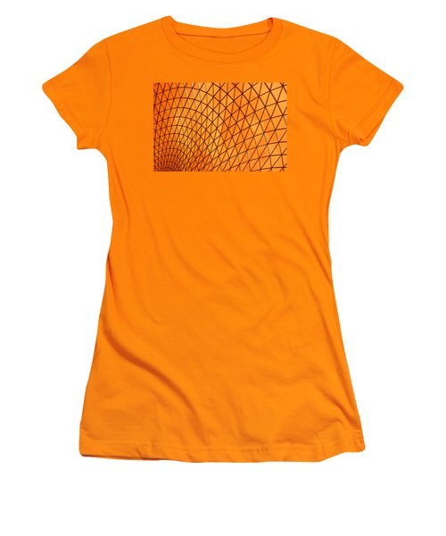 Orange Glow Women's T-Shirt (Junior Cut) by Elvira Butler