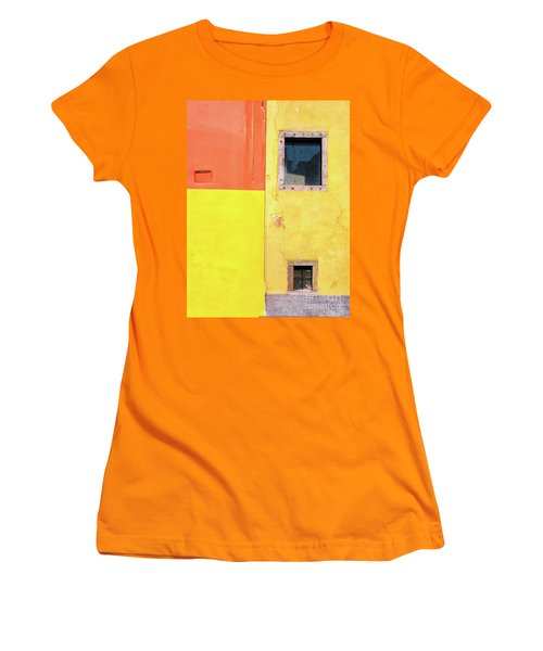 Women's T-Shirt (Athletic Fit) featuring the photograph Rectangles by Silvia Ganora