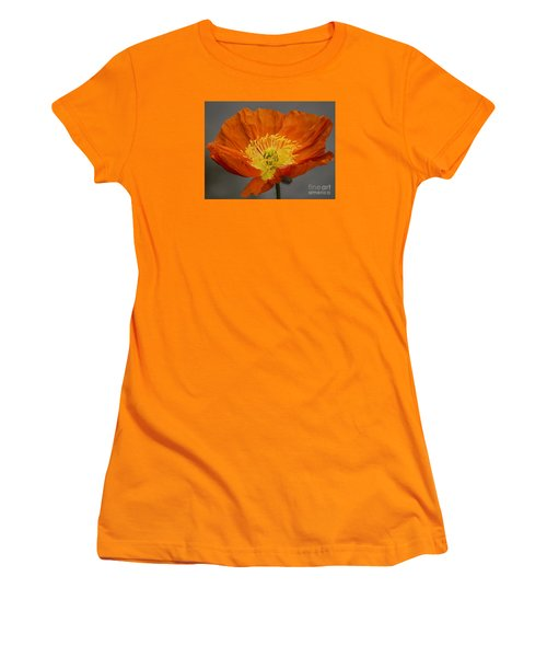Red Poppy II Women's T-Shirt (Athletic Fit)