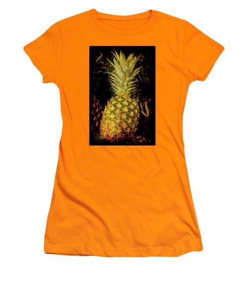 Renaissance Pineapple Women's T-Shirt (Athletic Fit)