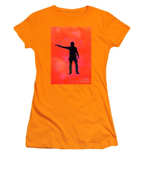 Rick Grimes Women's T-Shirt (Athletic Fit)