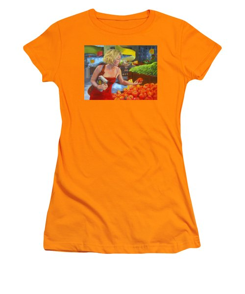Ripe And Sweet Women's T-Shirt (Athletic Fit)