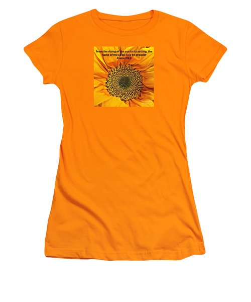 Rising Of The Sun Women's T-Shirt (Athletic Fit)