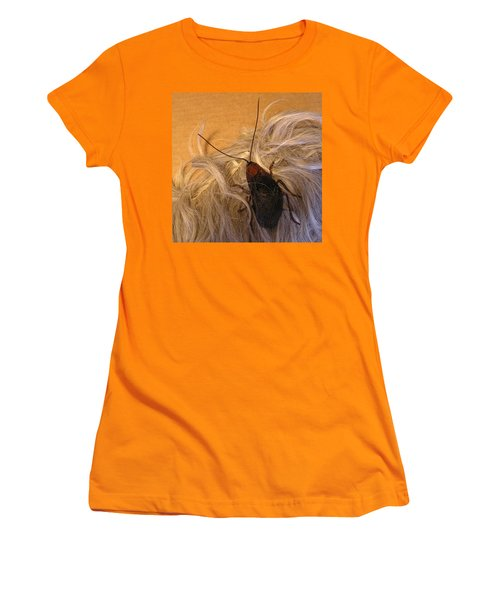 Roach Hair Clip Women's T-Shirt (Junior Cut) by Roger Swezey
