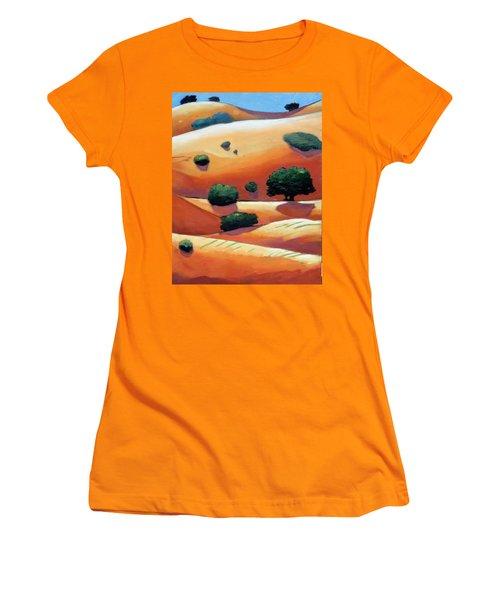 Rolling Trip Panel IIi Women's T-Shirt (Junior Cut) by Gary Coleman