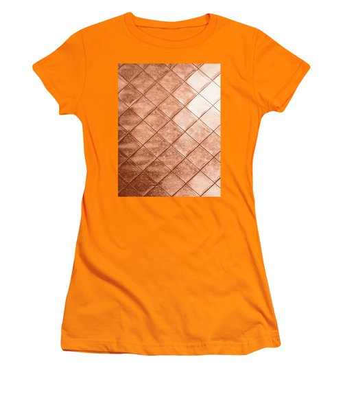 Rose Gold Crush Women's T-Shirt (Athletic Fit)