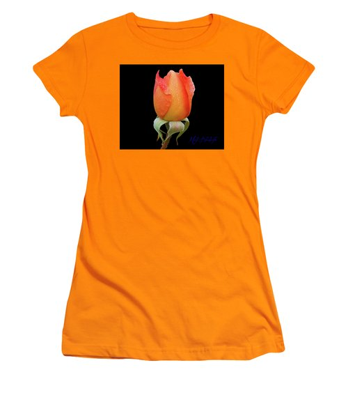 Women's T-Shirt (Athletic Fit) featuring the photograph Rose-marie by Mark Blauhoefer