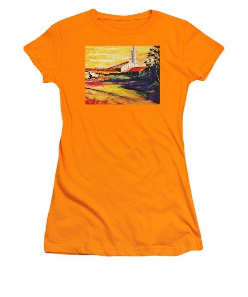 Ruinas De La Central Eureka Women's T-Shirt (Athletic Fit)