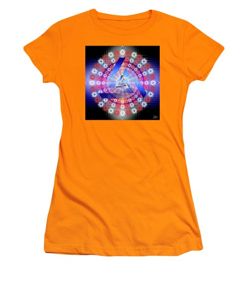 Sacred Geometry 646 Women's T-Shirt (Athletic Fit)