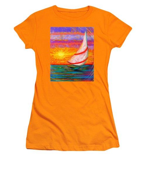 Sailaway Women's T-Shirt (Athletic Fit)