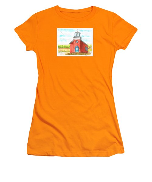 San Rafael Church In La Cueva, New Mexico Women's T-Shirt (Junior Cut) by Carlos G Groppa