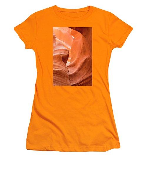 Sandstone Swirls  Women's T-Shirt (Athletic Fit)