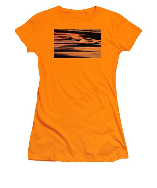 Sandy Reflection Women's T-Shirt (Athletic Fit)