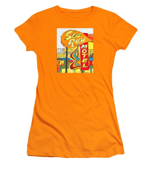 Sea Ray Motel Women's T-Shirt (Athletic Fit)