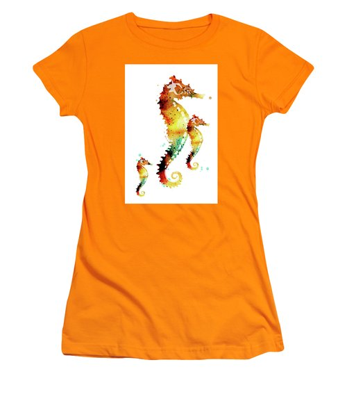 Seahorses Women's T-Shirt (Athletic Fit)