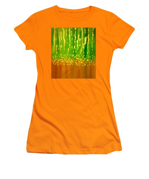 Seeds And Sprouts Women's T-Shirt (Athletic Fit)