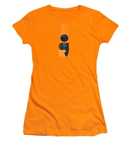 Semicolon Women's T-Shirt (Junior Cut) by Bill Owen