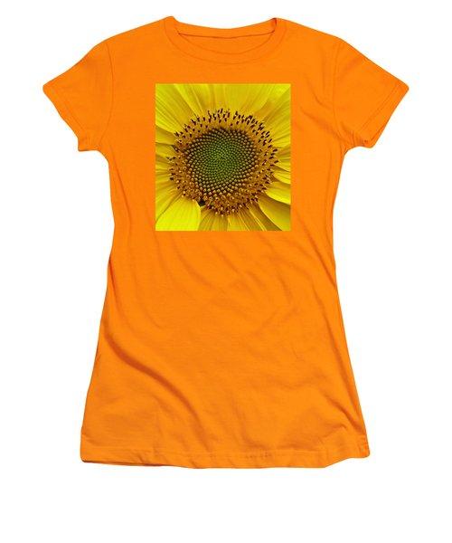 September Sunflower Women's T-Shirt (Junior Cut) by Richard Cummings