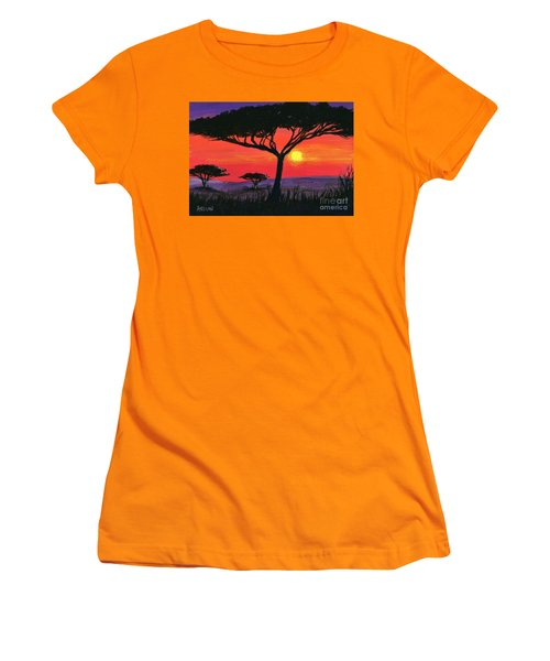 Kalahari  Women's T-Shirt (Athletic Fit)