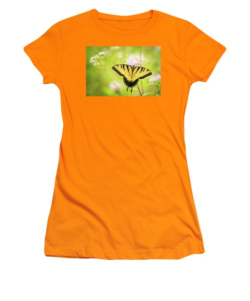 Series Of Yellow Swallowtail #6 Of 6 Women's T-Shirt (Athletic Fit)