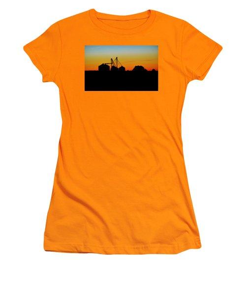 Shadow Farm Women's T-Shirt (Junior Cut) by William Bartholomew