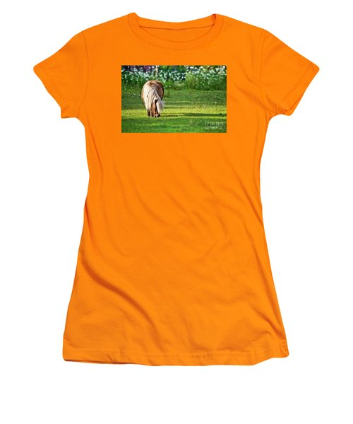 Shetland Pony Women's T-Shirt (Athletic Fit)