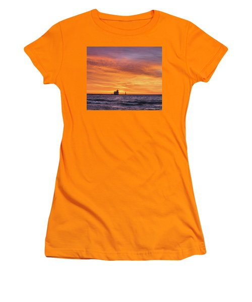 Women's T-Shirt (Athletic Fit) featuring the photograph Should Have Been There by Bill Pevlor
