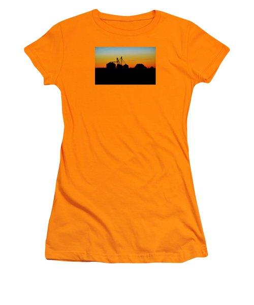Silhouette Farm Women's T-Shirt (Junior Cut) by William Bartholomew