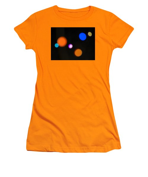 Simple Circles Women's T-Shirt (Athletic Fit)