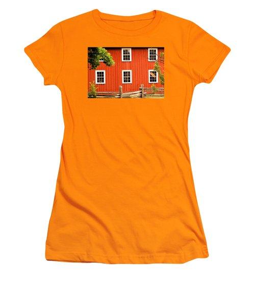 Six Windows Women's T-Shirt (Junior Cut) by Ian  MacDonald